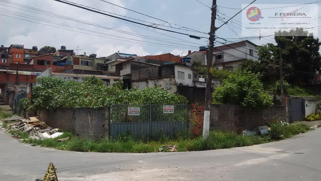 Terreno  residencial à venda, Parque Paraíso, Itapecerica da Serra.
