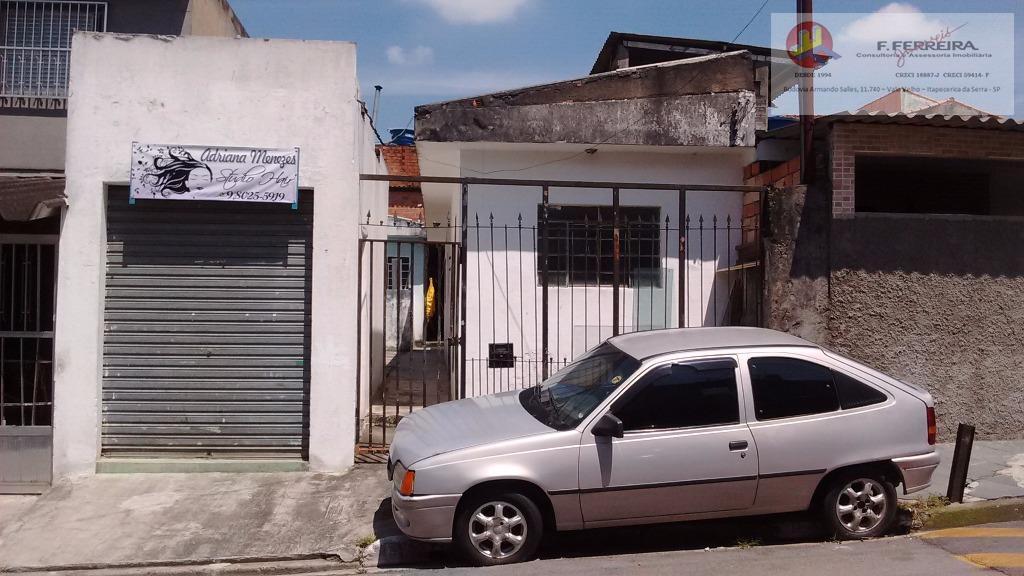 Casa  residencial para locação, Jardim Dom José, São Paulo.