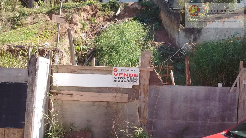 Terreno  residencial à venda, Recreio Primavera, Itapecerica da Serra.