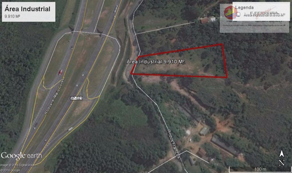 Área  industrial à venda, Lagoa, Itapecerica da Serra.