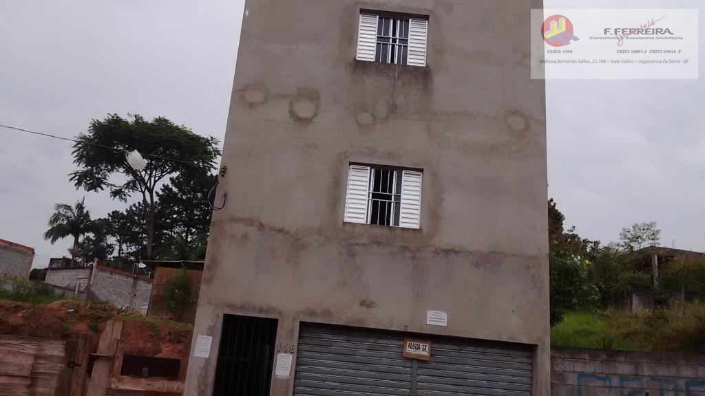 Casa com 1 dormitório para alugar, 50 m² por R$ 500/mês - Chácara Santa Maria - Itapecerica da Serra/SP