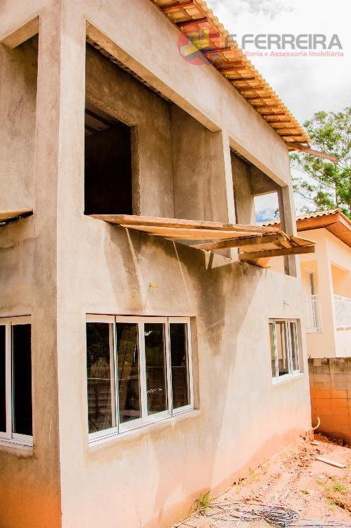 Sobrado residencial à venda, Olaria, Itapecerica da Serra - SO0018.