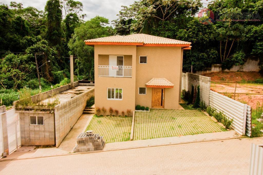 Sobrado residencial à venda, Olaria, Itapecerica da Serra.