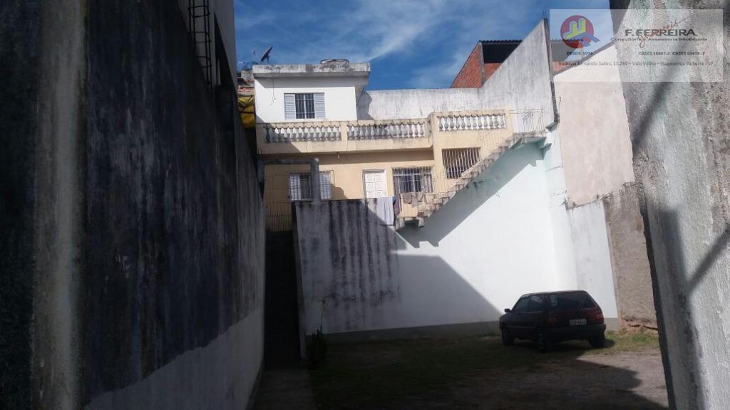 Sobrado com 1 dormitório à venda, 60 m² por R$ 300.000 - Jardim Cinira - Itapecerica da Serra/SP