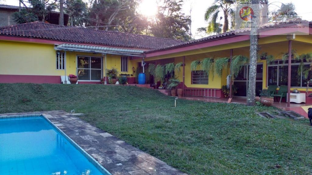 Casa residencial à venda, Recanto da Floresta, Itapecerica da Serra.