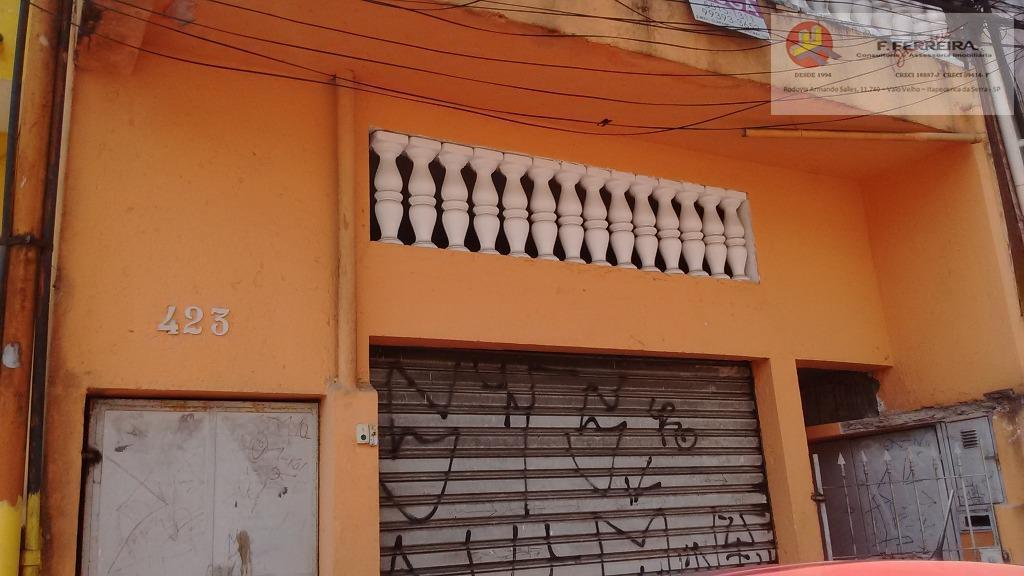 Casa com 2 dormitórios para alugar, 90 m² por R$ 500/mês - Chácara Santa Maria - São Paulo/SP