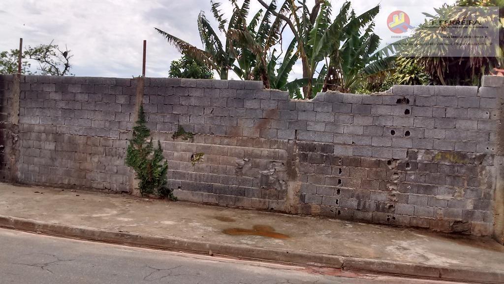 Terreno residencial à venda, Jardim Cinira, Itapecerica da Serra.