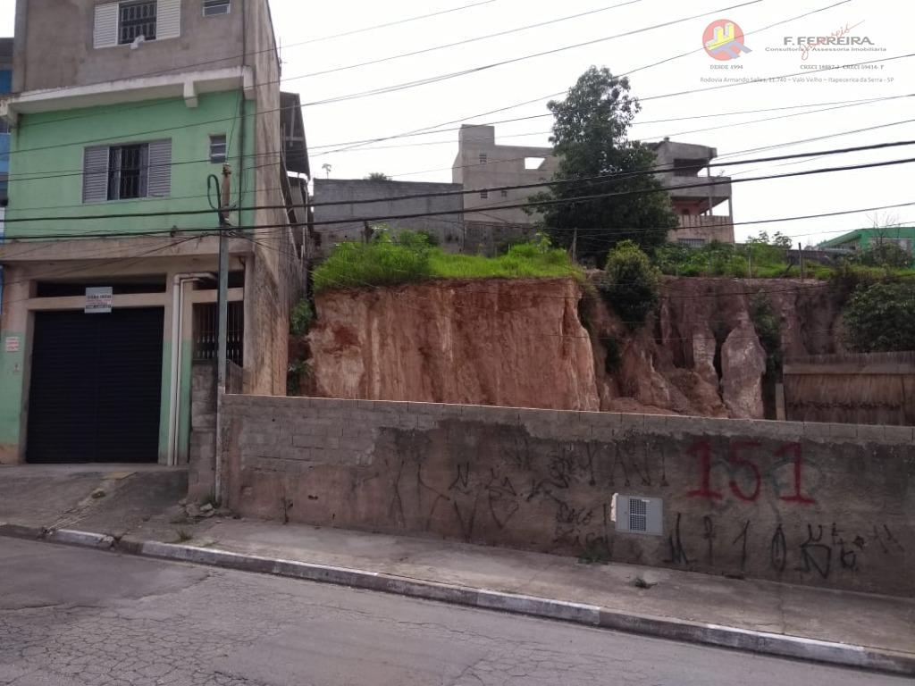 Terreno à venda por R$ 230.000,00 - Parque Paraíso - Itapecerica da Serra/SP