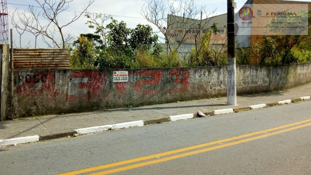 Terreno à venda, 260 m² por R$ 215.000 - Centro - Itapecerica da Serra/SP