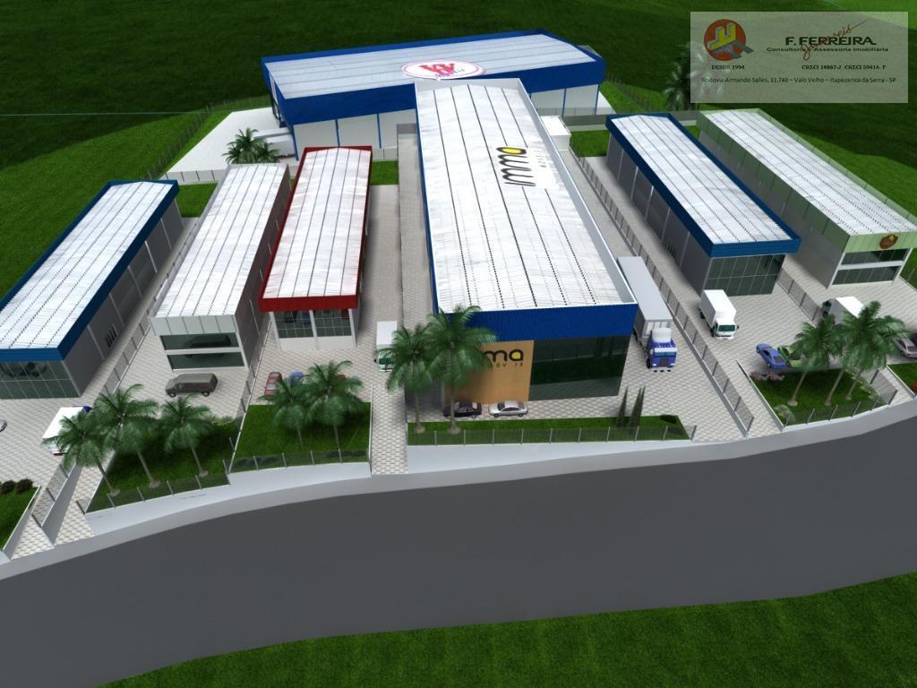 Terreno Lote Área industrial e Logística - Condomínio Industrial Itapecerica da Serra - SP - TE0046
