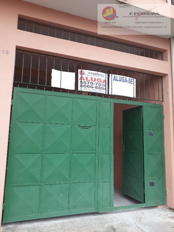 Sobrado com 2 dormitórios para alugar por R$ 1.350/mês - Parque Paraíso - Itapecerica da Serra/SP