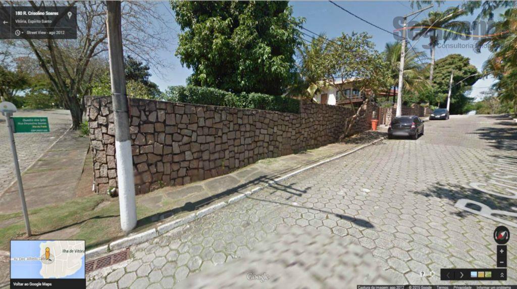Excelente Terreno em esquina residencial à venda, Ilha do Frade, Vitória.