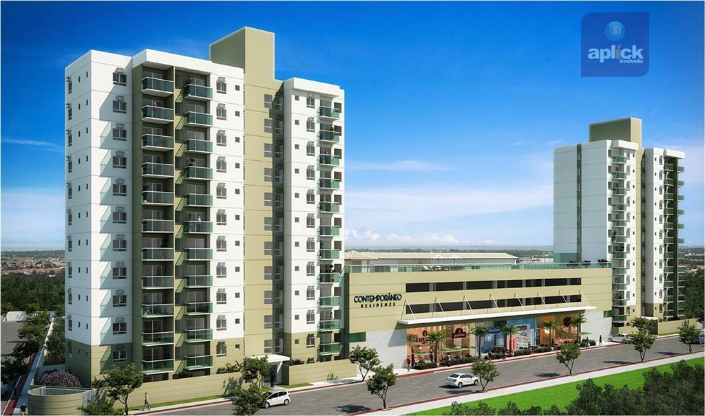 Apartamento residencial à venda, Laranjeiras, Serra - AP0001.