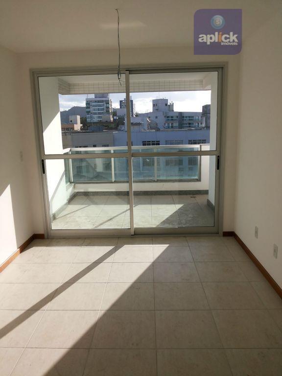 excelente apartamento em jardim da penha com duas salas bem divididas, três quartos sendo uma suíte,...