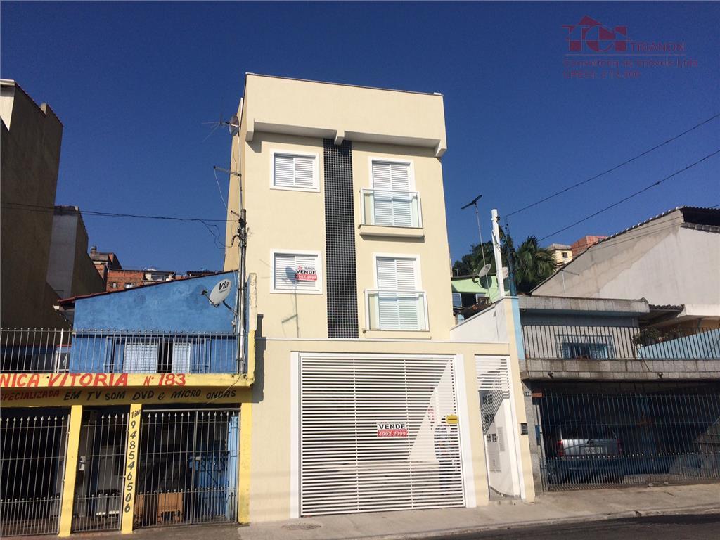 Cobertura  residencial à venda, Vila Guarará, Santo André.