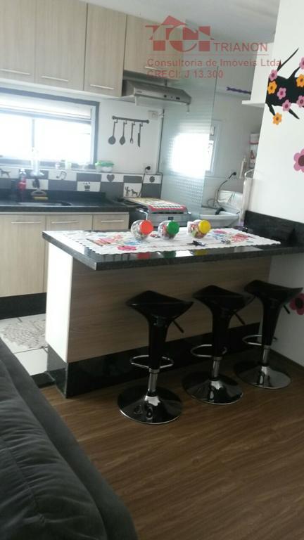 Lindo Apartamento  à venda, Vila Assunção, Santo André.