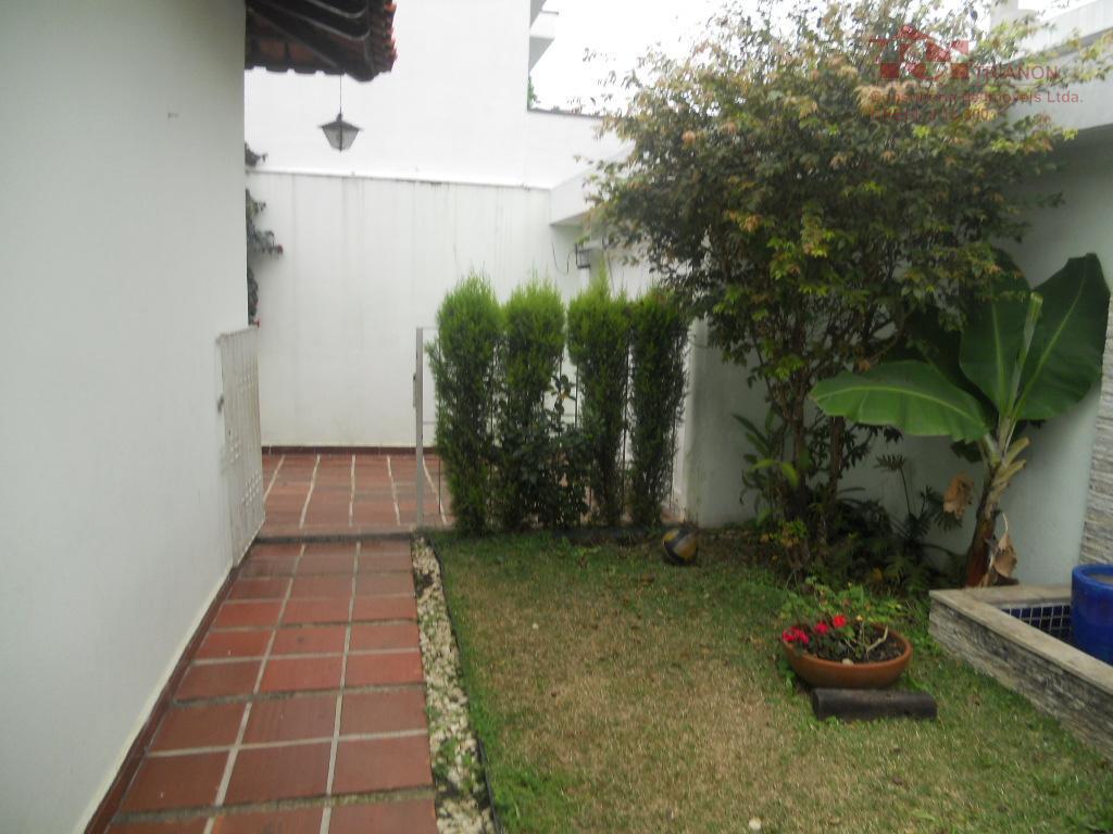 Casa residencial à venda, Jardim Bela Vista, Santo André.