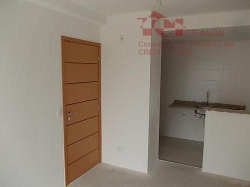 Apartamento residencial à venda, Vila Boa Vista, Santo André.