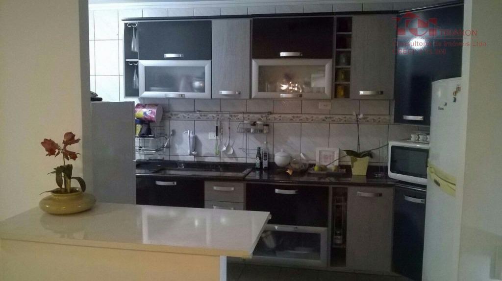 Apartamento residencial à venda, Vila Helena, Santo André.