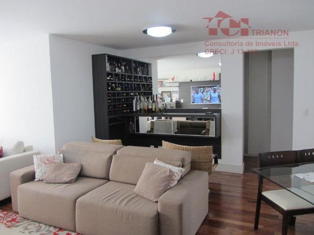 apto. 132 m2 3 dorm 3 suites 3 vagas com varanda gourmet