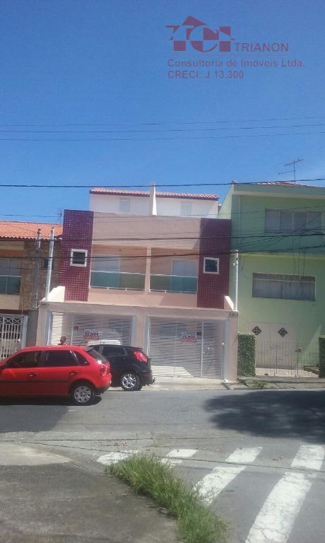 Sobrado residencial à venda, Vila Cecília Maria, Santo André.