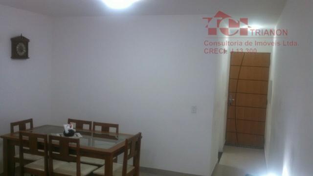 apto. 55 m2 2 dorm 1 vaga semi mobiliado