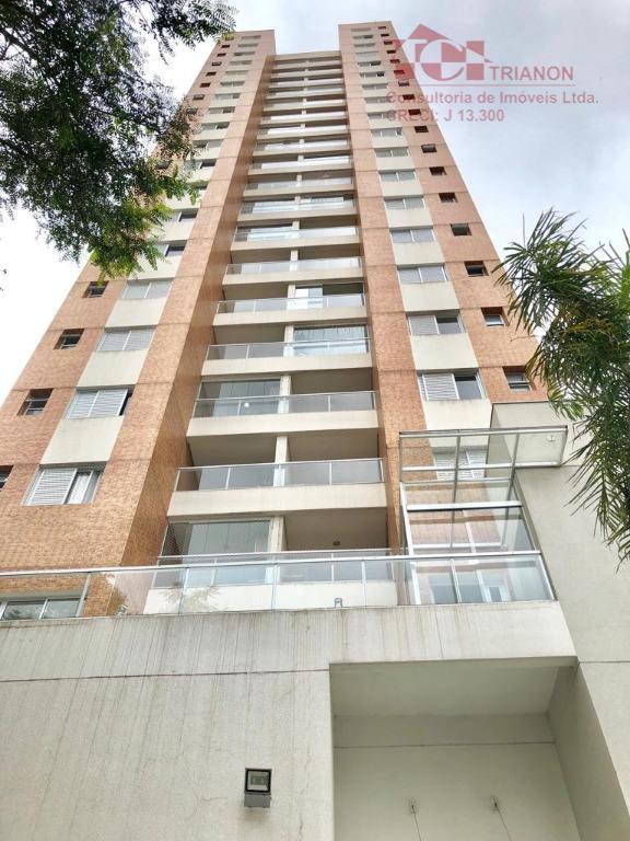 Apto 3 dorm. com 1 suite, móveis planejados, 80 m². Vendo por R$ 403.000 - Santa Terezinha - São Bernardo do Campo/SP