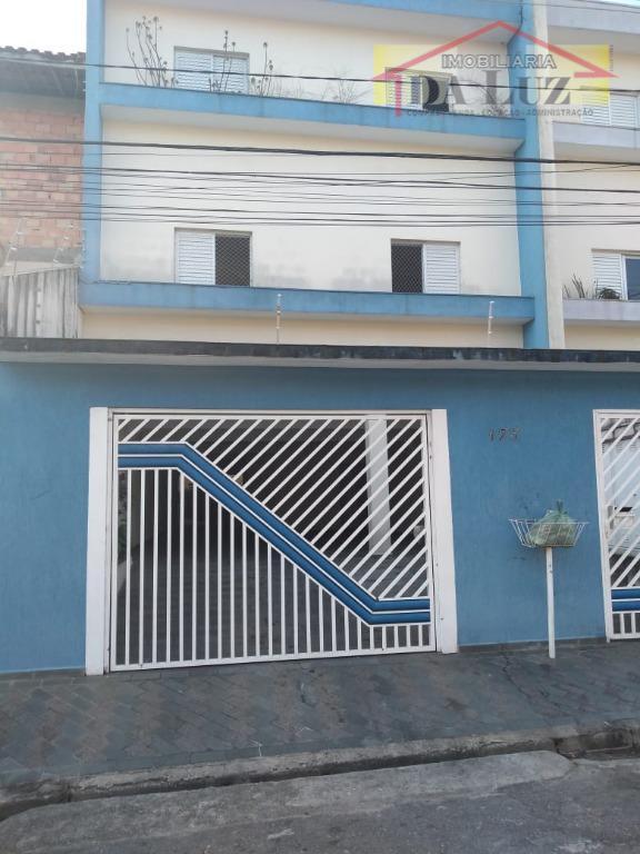 Apartamento residencial para locação, Vila Humaitá, Santo André.
