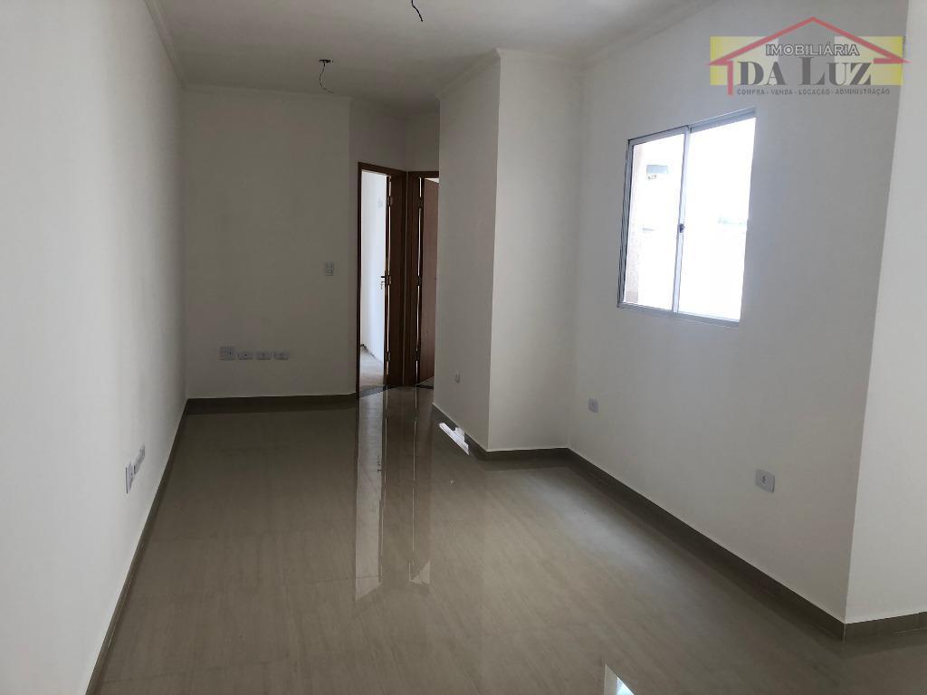 Cobertura com 2 dormitórios à venda, 100 m² por R$ 270.000 - Vila Curuçá - Santo André/SP