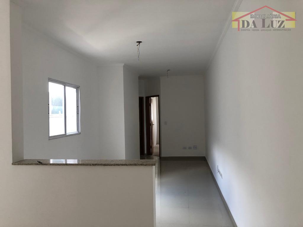 Cobertura com 2 dormitórios à venda, 100 m² por R$ 280.000 - Vila Curuçá - Santo André/SP