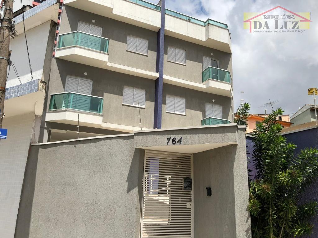 Apartamento residencial à venda, Vila Curuçá, Santo André.