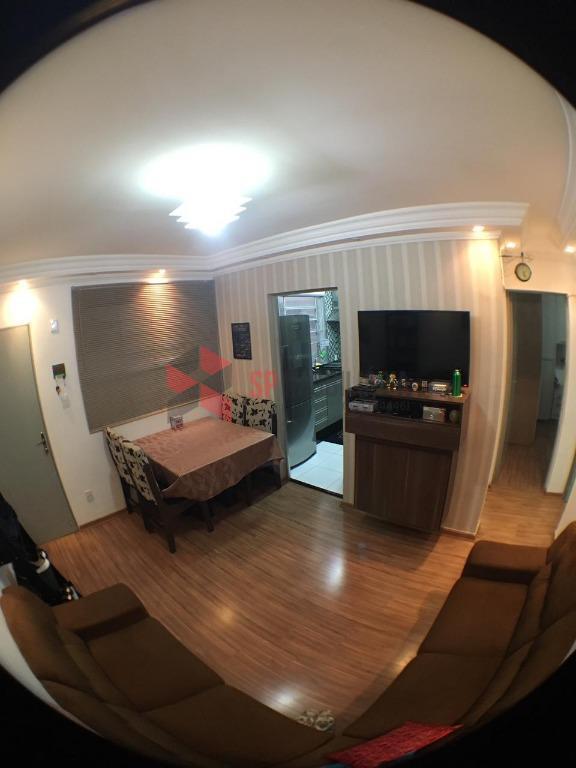 Apartamento residencial à venda, Vila Paraíso, Caçapava.