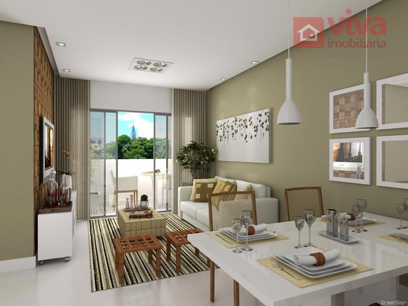 Apartamento à venda, 2 quartos em Pernambués, Salvador - AP0092.