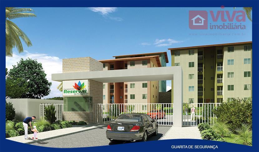 Apartamento à venda, 2 quartos no Caji, Lauro de Freitas - AP0185.