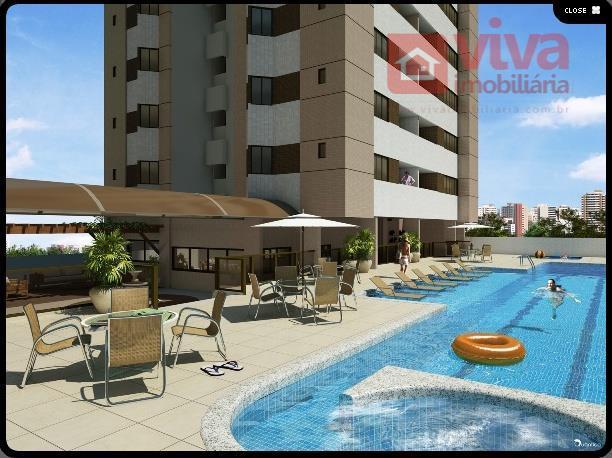 Apartamento residencial à venda, 3 quartos em Armação, Salvador - AP0120.