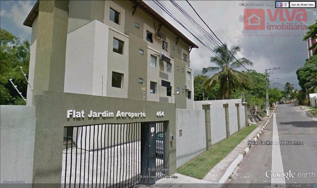 Flat residencial para venda e locação, Jardim Aeroporto, Lauro de Freitas - FL0003.