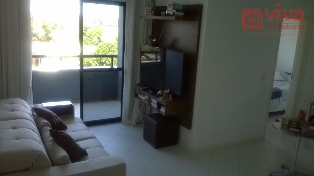 Flat residencial para venda e locação, Centro, Lauro de Freitas - FL0005.