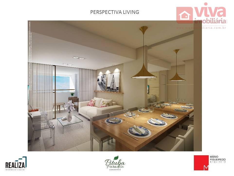 Apartamento à venda, 2 quartos na Pituba, Salvador - AP0071.