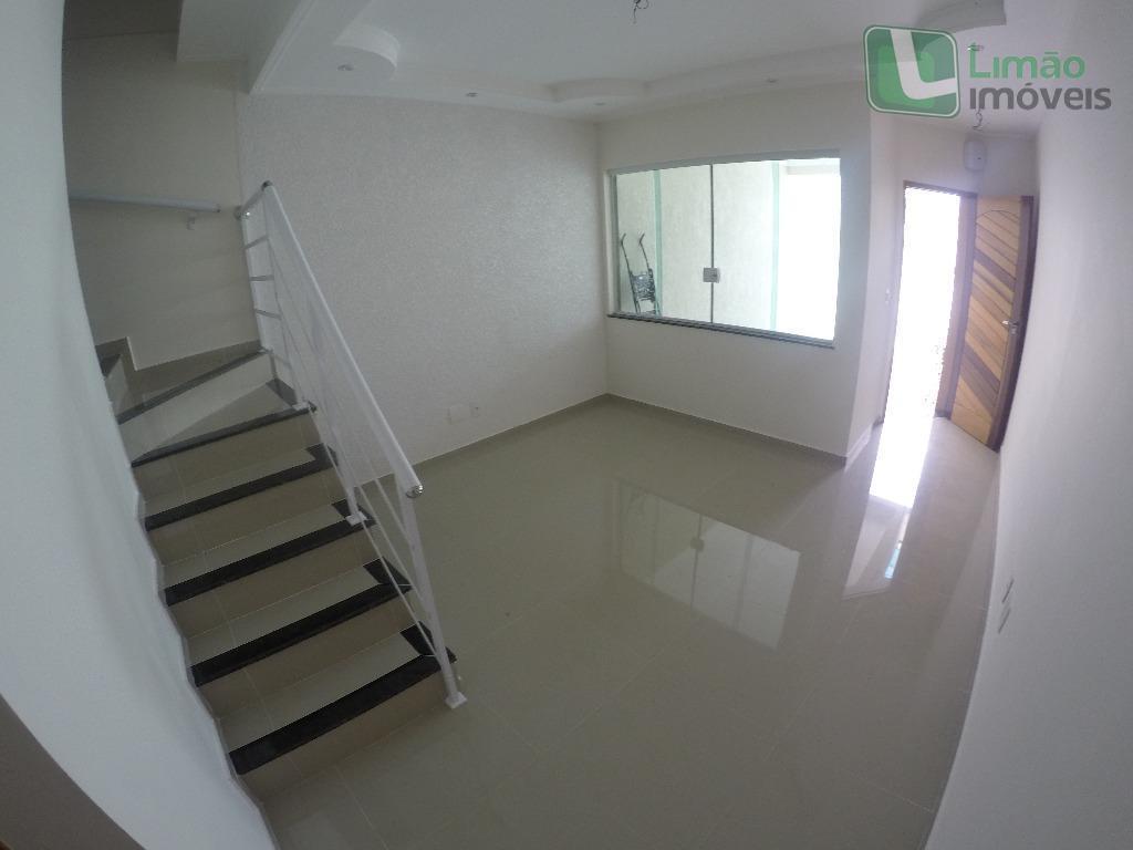 lindo sobrado novo 02 suites e 2 vagas Limao- Proximo Padaria Lareira