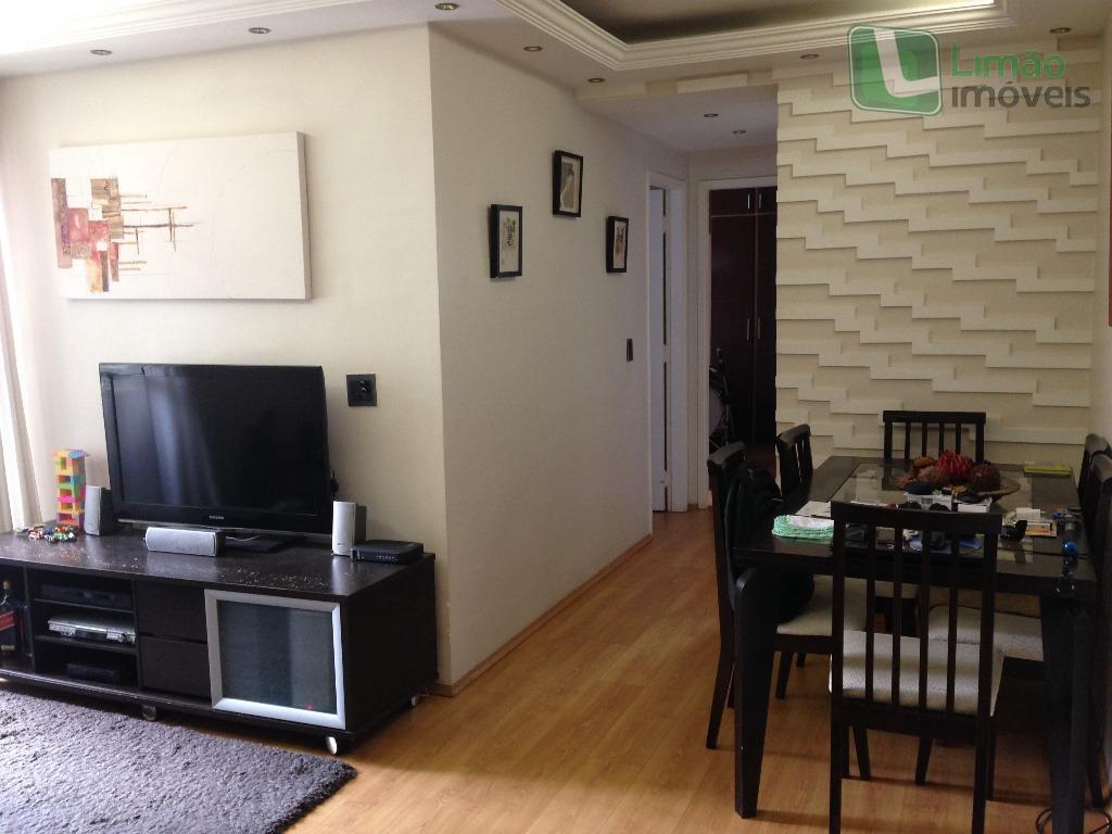 Apartamento com 2 dormitórios à venda, 54 m² por R$ 371.000  Rua Silvano de Almeida, 253 - Limão - São Paulo/SP