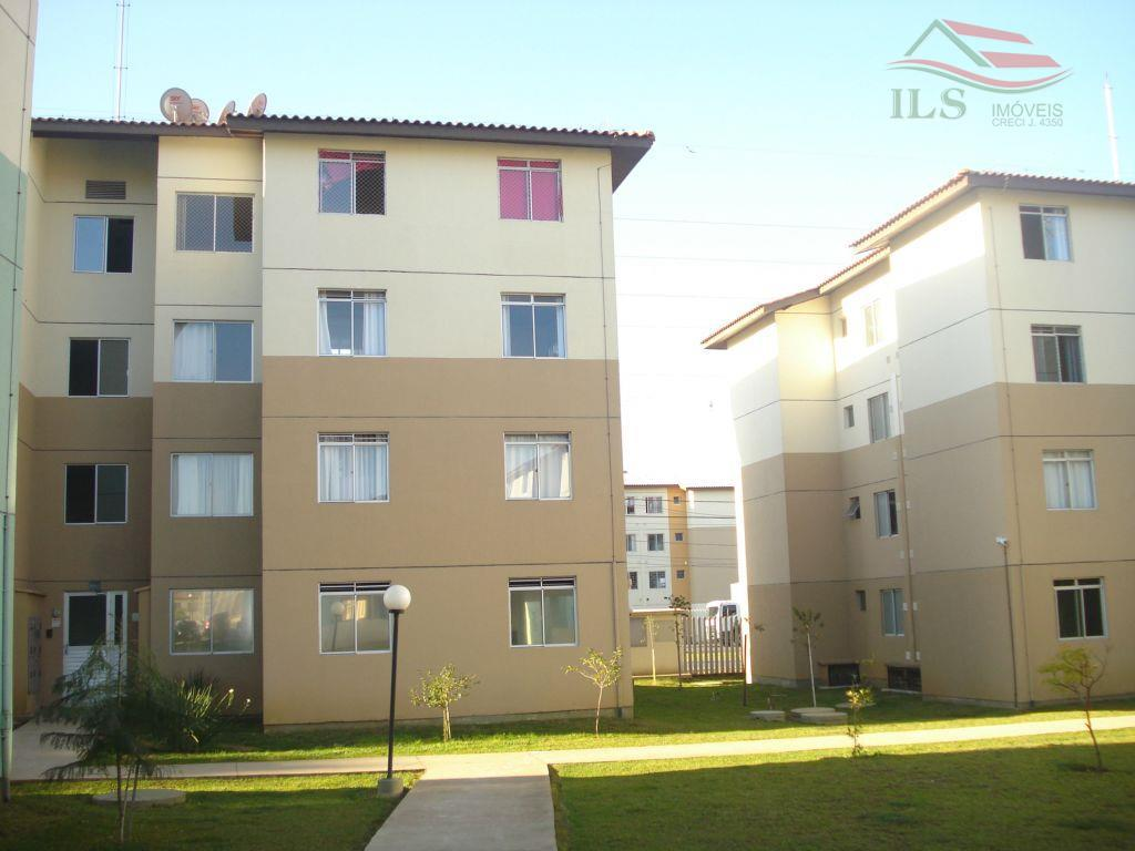 Apartamento residencial à venda, Ganchinho, Curitiba - AP0177.