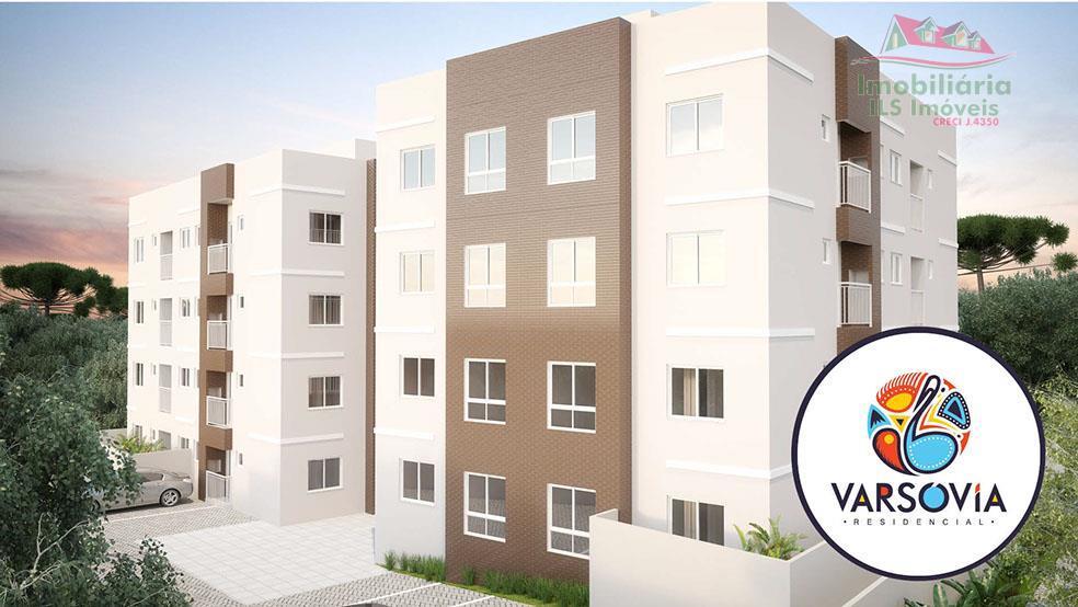 Apartamento  residencial à venda, Colônia Rio Grande, São José dos Pinhais.