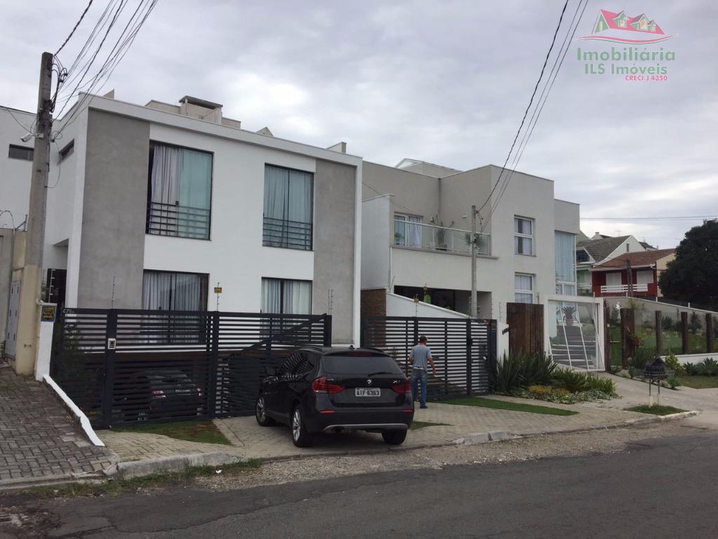Sobrado residencial à venda, Tarumã, Curitiba - SO0225.