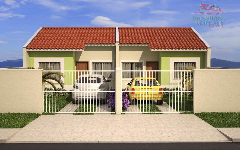 Casa residencial à venda, Green Field, Fazenda Rio Grande - CA0201.