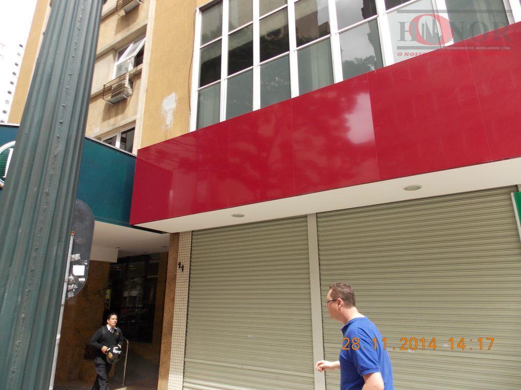 Prédio comercial para locação, Centro, Curitiba.