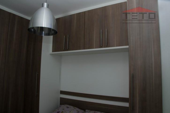 lindo apartamento de 2 dormitórios, 52m2 de área útil, fino acabamento, cozinha planejada, armários, sala para...