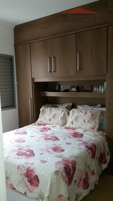 Apartamento de 2 dormitórios em Jardim Testae, Guarulhos - SP