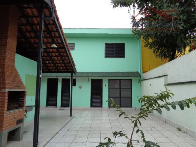 Sobrado residencial para locação, Parque Novo Mundo, São Paulo.