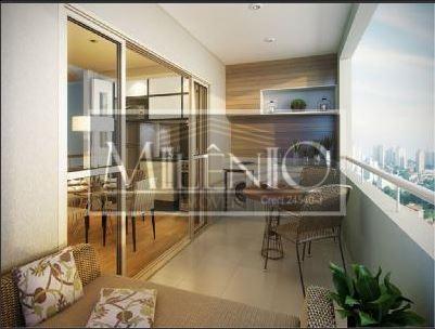 Flat de 2 dormitórios em Brooklin, São Paulo - SP