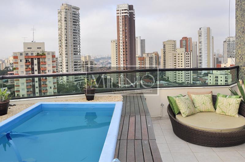 Cobertura de 3 dormitórios em Chácara Klabin, São Paulo - SP